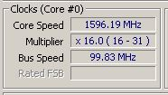BCLK 99.83MHz