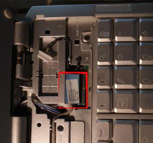 déconnexion câble écran DELL